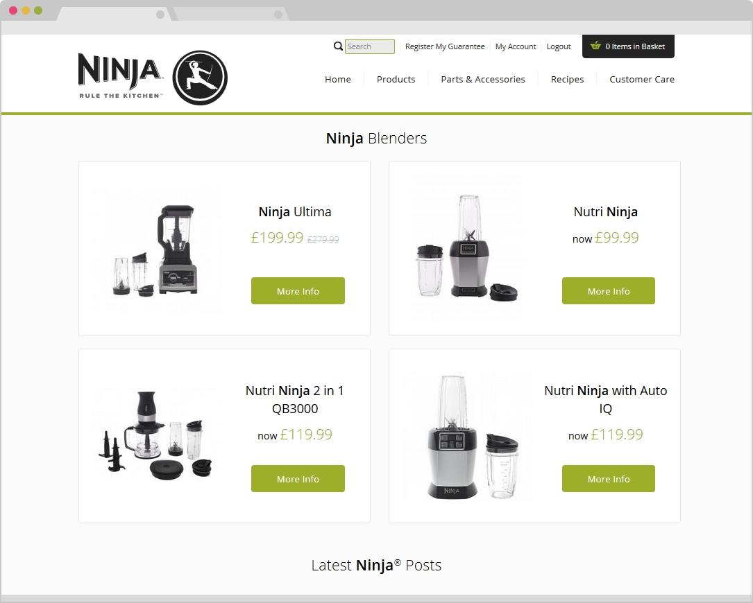 Ninja Kitchen